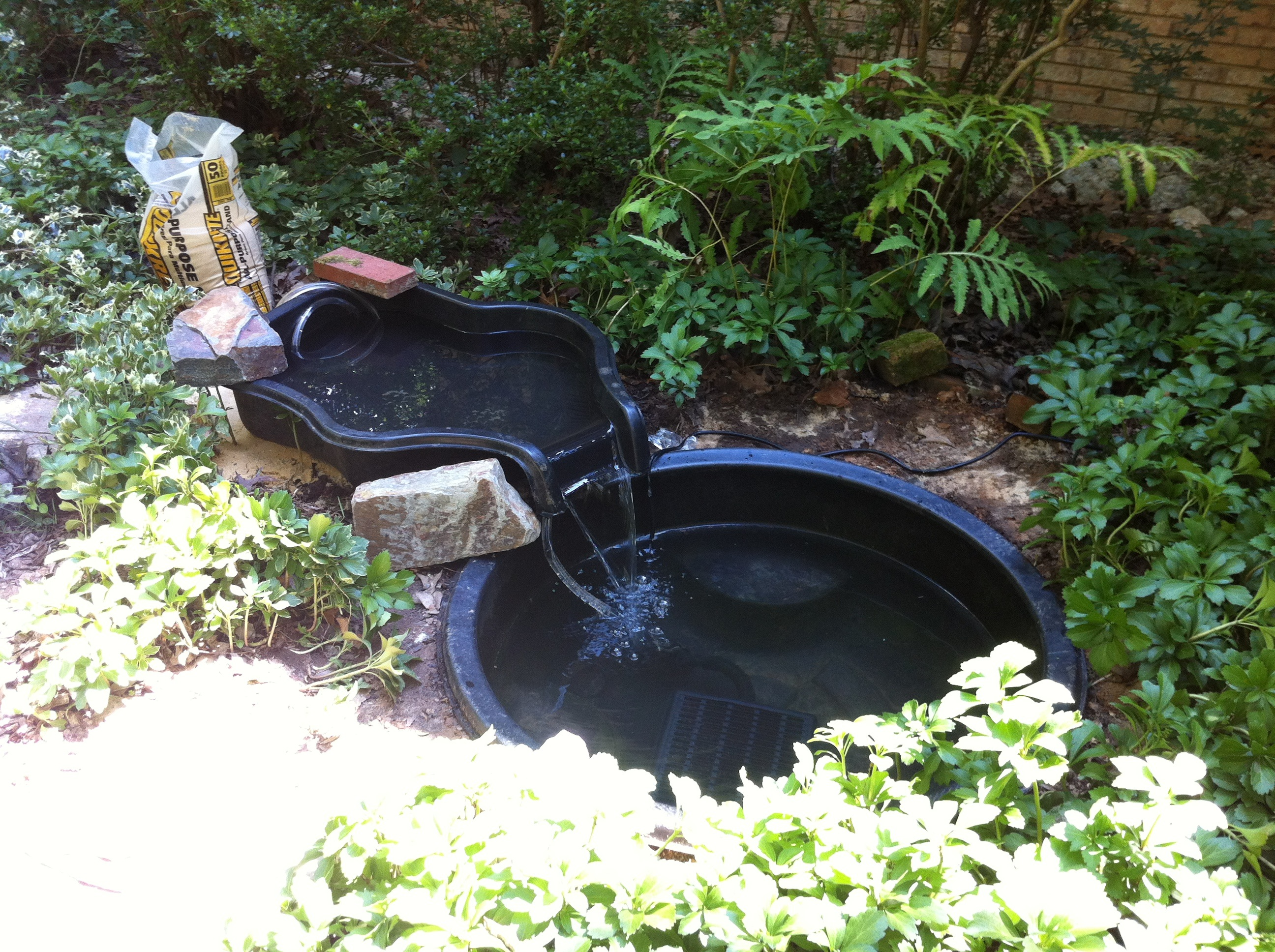 A water gardening remake a gardener 39 s delight for Koi pond liner