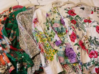 Floral-themed clothing