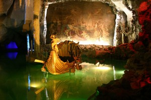 King Ludwig's Venus Grotto at Linderhof (Photo Courtesy Wikipedia)