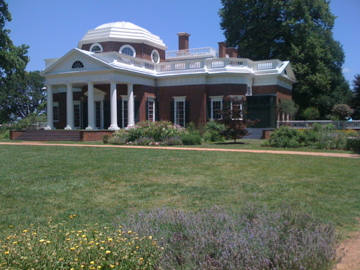 Thomas Jefferson's Monticello (Photo Courtesy: Adroit Ideals)