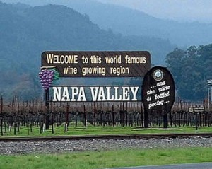 Welcome to the Napa Valley (photo courtesy napavalley.edu)