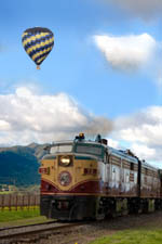 The Napa Valley Wine Train (courtesy winetrain.com)