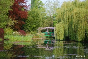 Claude Monet's Giverny Garden (Courtesy giverny.org, Photo by Ariane Cauderlier)