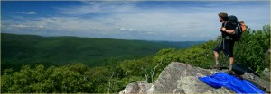 The Blue Ridge Mountains along the Appalachian Trail (Courtesy Blue Ridge Highlands.org)