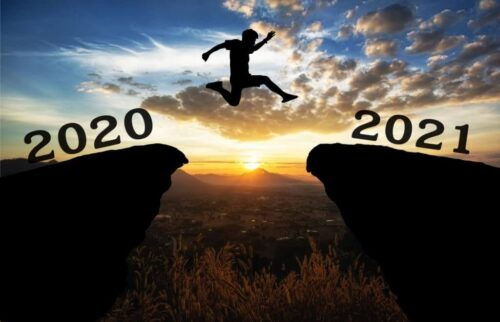 Jumping from 2020 to 2021
