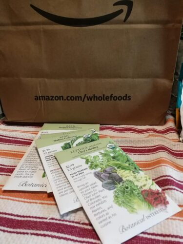 Seeds available at Whole Foods Market